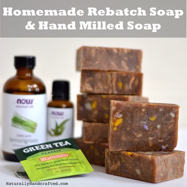 Rebatch Soap And Hand Milled Soap Recipe No Lye