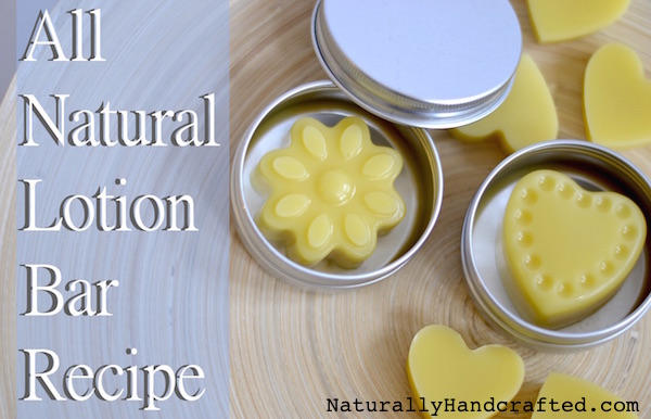 Lotion Bar Recipe All Natural Super Moisturizing