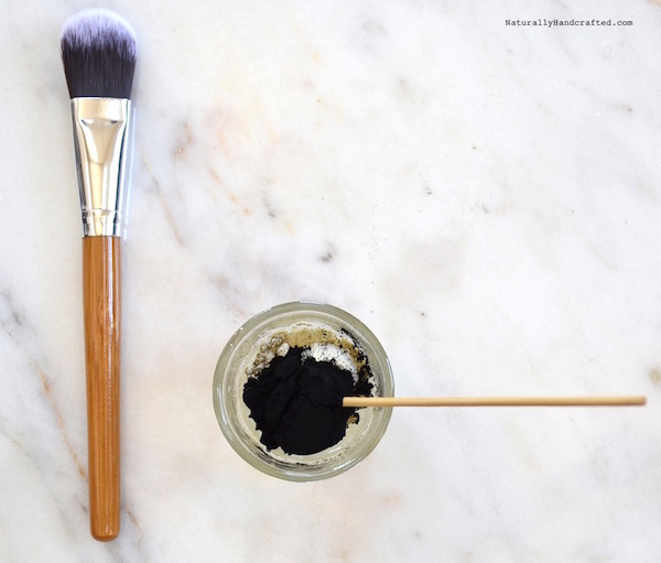 Diy Charcoal Face Mask: DIY Charcoal Mask Recipe, Glue-Free, Peelable
