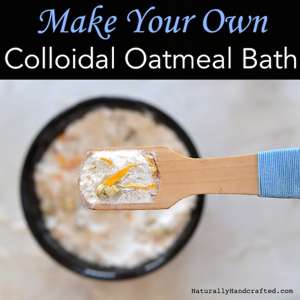 Diy Colloidal Oatmeal Bath Soothes Dry Itchy Skin