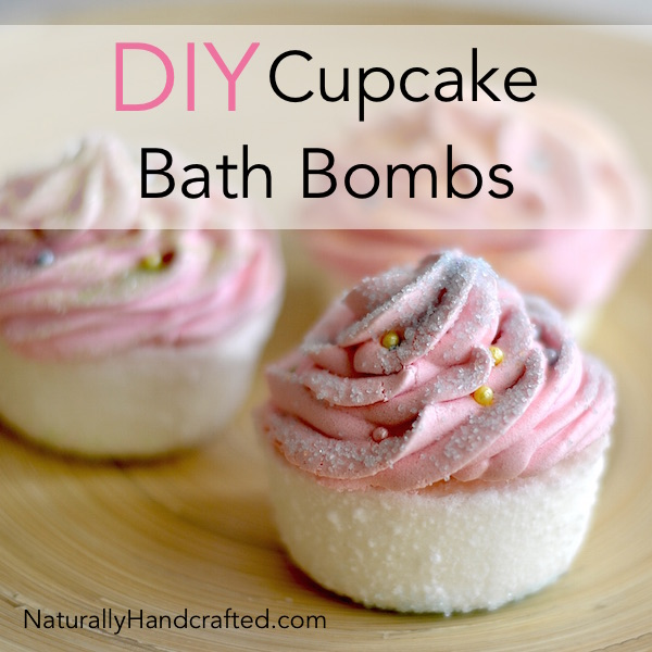 Diy Cupcake Bath Bombs Super Easy Recipe Naturally